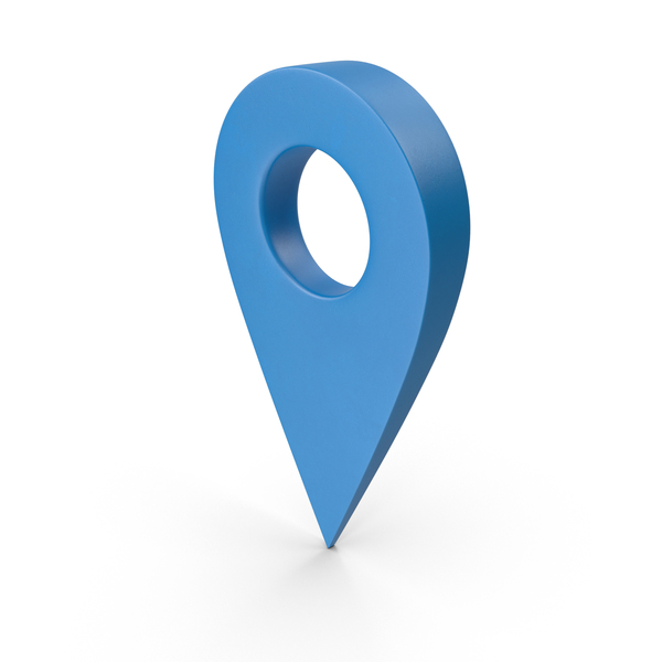 Blue Map Pointer PNG & PSD Images