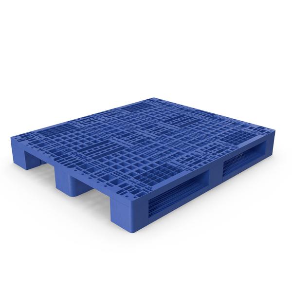 Blue Plastic Pallet PNG & PSD Images