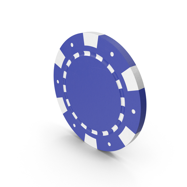 Chips: Blue Poker Token PNG & PSD Images