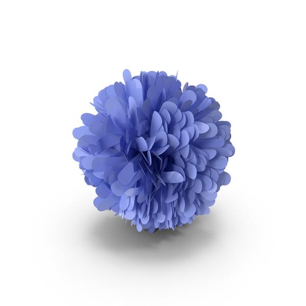Blue Pom Pom PNG & PSD Images