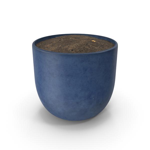 Blue Pot PNG & PSD Images