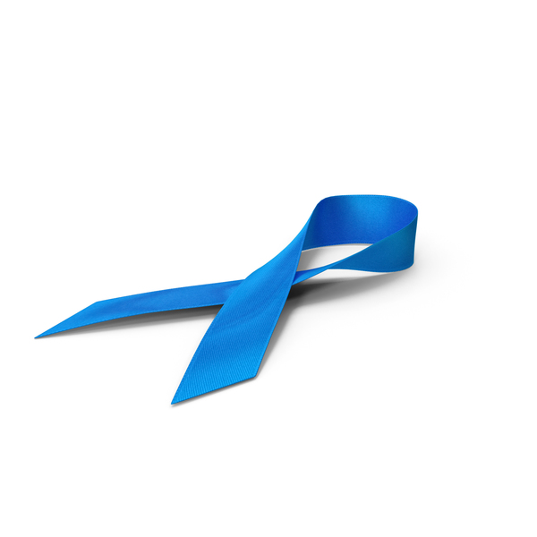 Blue Ribbon Awareness Symbol PNG & PSD Images