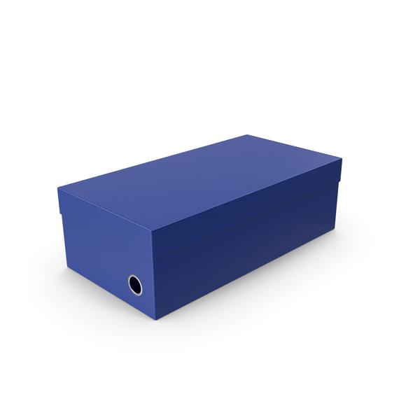 Blue Shoe Box PNG & PSD Images