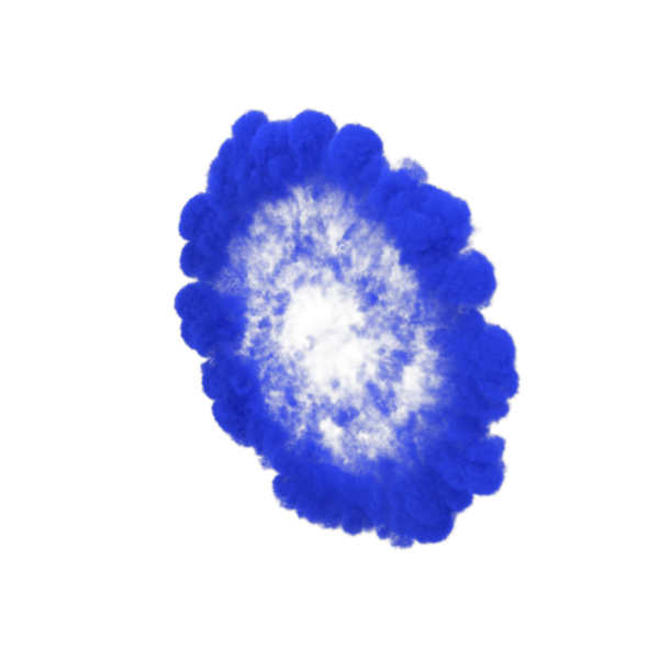 Blue Smoke Ring PNG & PSD Images