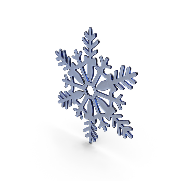 Blue Snowflake PNG & PSD Images