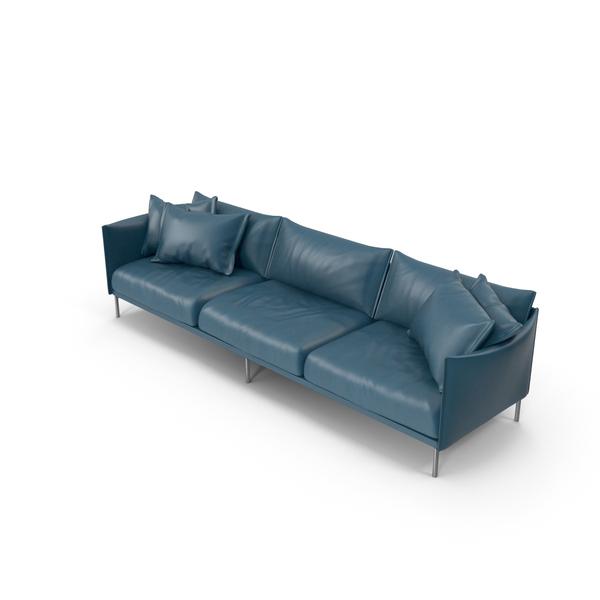 Blue Sofa PNG & PSD Images