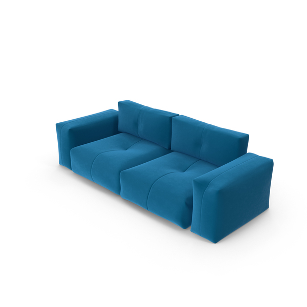 Blue Sofa Object