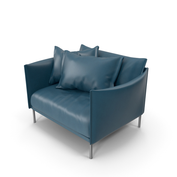 Blue Sofa PNG & PSD Images