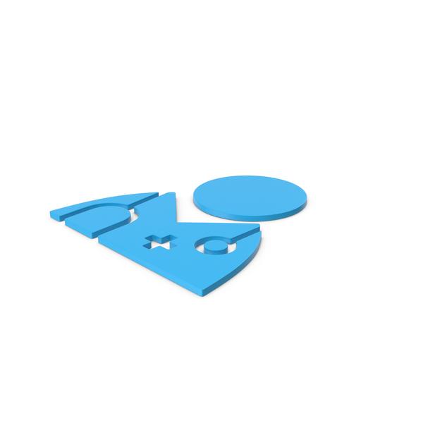 Bust: Blue Symbol Doctor PNG & PSD Images