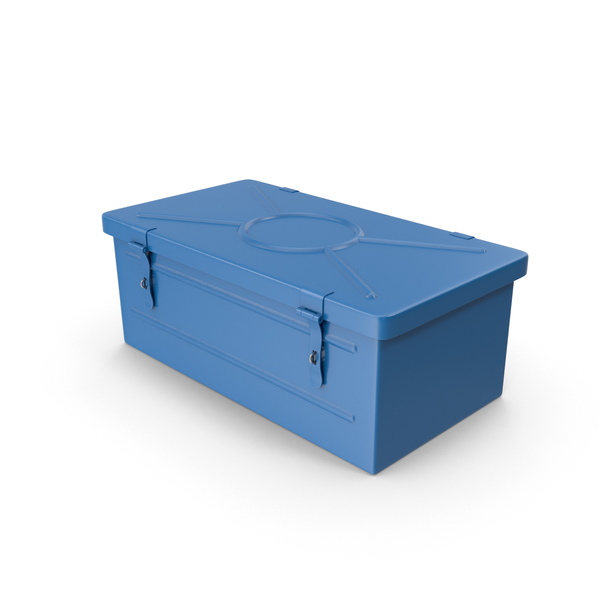 Blue Toolbox PNG & PSD Images