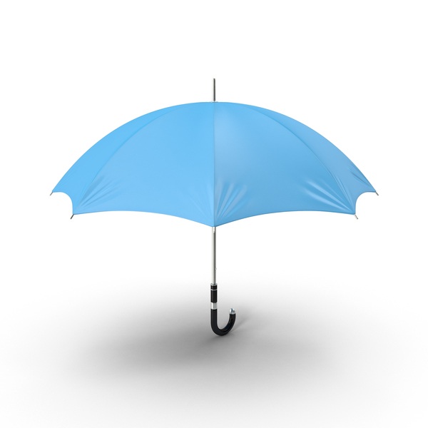 Blue Umbrella PNG & PSD Images