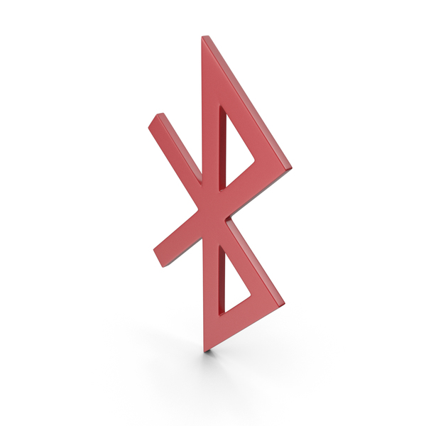 Computer: Bluetooth Red Icon PNG & PSD Images