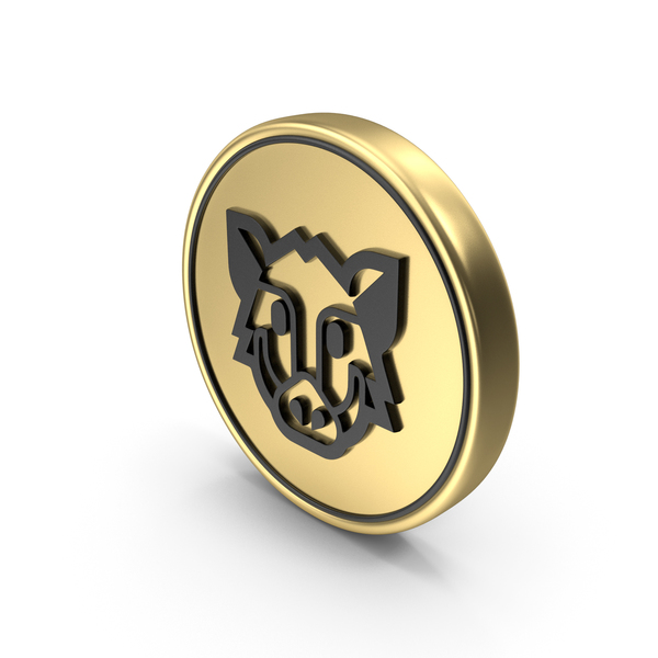 Boar face Coin Logo Icon PNG & PSD Images