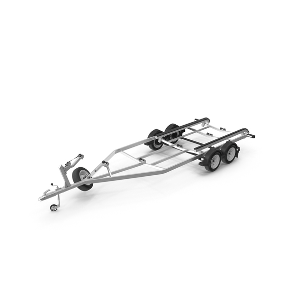 Boat Trailer Tandem Torsion Axle PNG & PSD Images