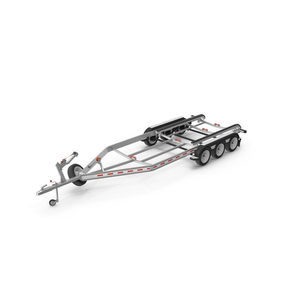Boat Trailer Triple Axles PNG & PSD Images
