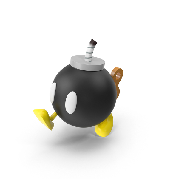 Bob Omb Walking PNG & PSD Images