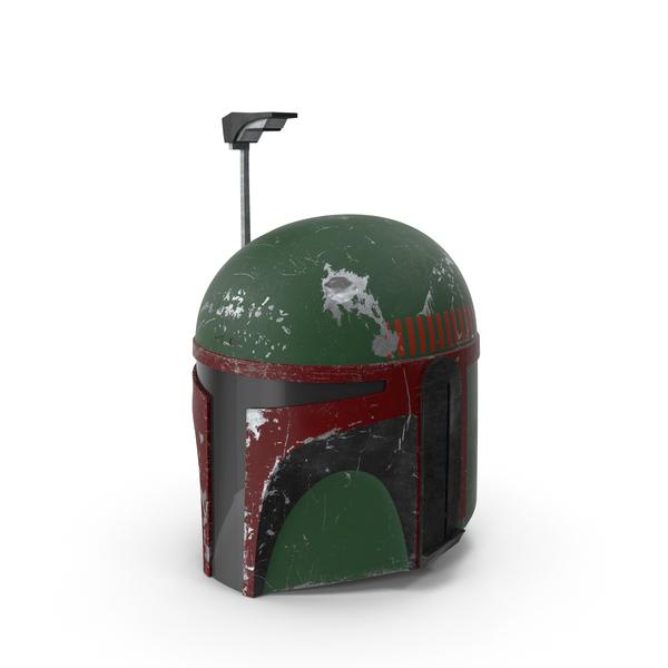 Boba Fett Helmet Object