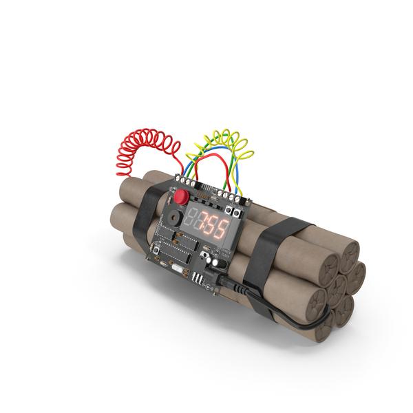 Bomb 7 min 55 sec PNG & PSD Images