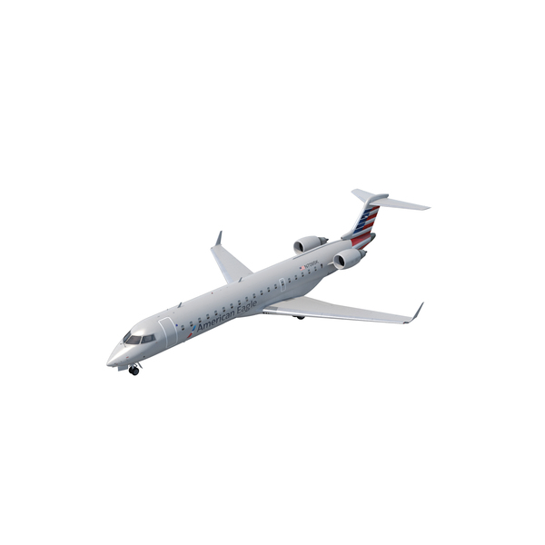 Airliner: Bombardier CRJ700 American Eagle PNG & PSD Images