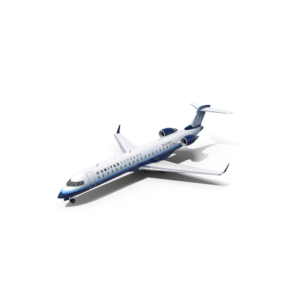 Bombardier CRJ700 United Express PNG & PSD Images