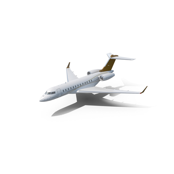 Airliner: Bombardier Global 6000 PNG & PSD Images