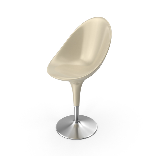 Bombo Chair Cream PNG & PSD Images