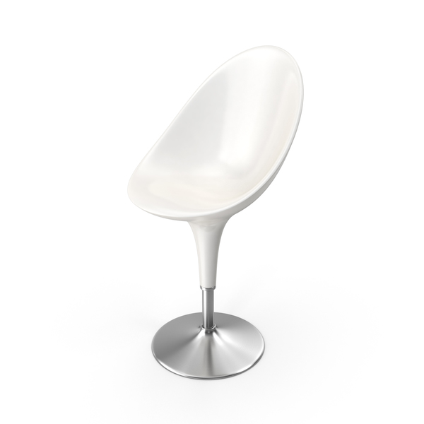 Bombo Chair White PNG & PSD Images