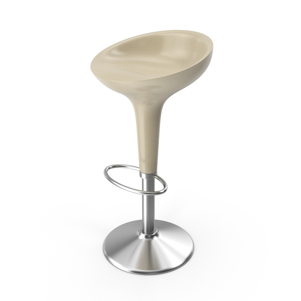 Bombo Stool Cream PNG & PSD Images