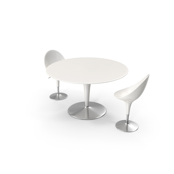 Bombo Table with Chairs PNG & PSD Images