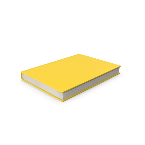 Book Yellow PNG & PSD Images