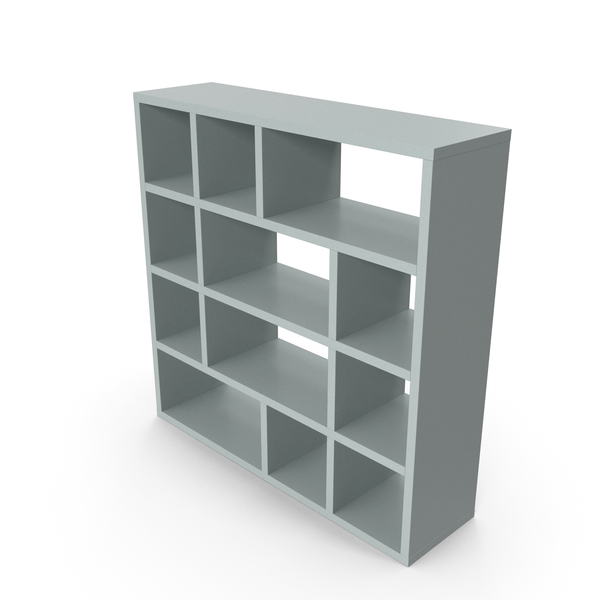 Bookcase Grey PNG & PSD Images