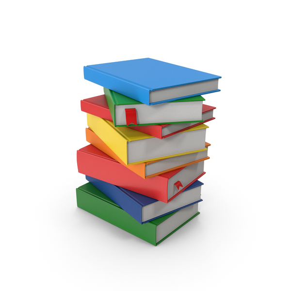 Books Stack PNG & PSD Images