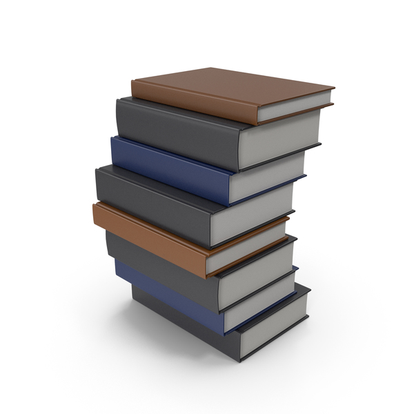 Hardcover Book: Books Stack PNG & PSD Images