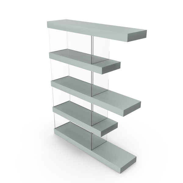 Bookshelf Grey PNG & PSD Images