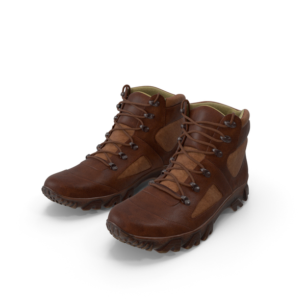 Boots Brown PNG & PSD Images