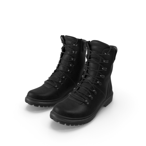 Boots Military Coyote Black PNG & PSD Images