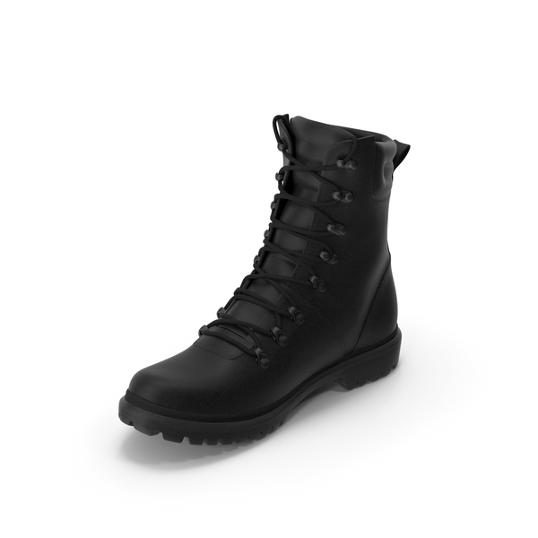 Boots SWAT Black PNG & PSD Images