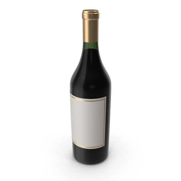 Wine: Bordeaux Bottle PNG & PSD Images