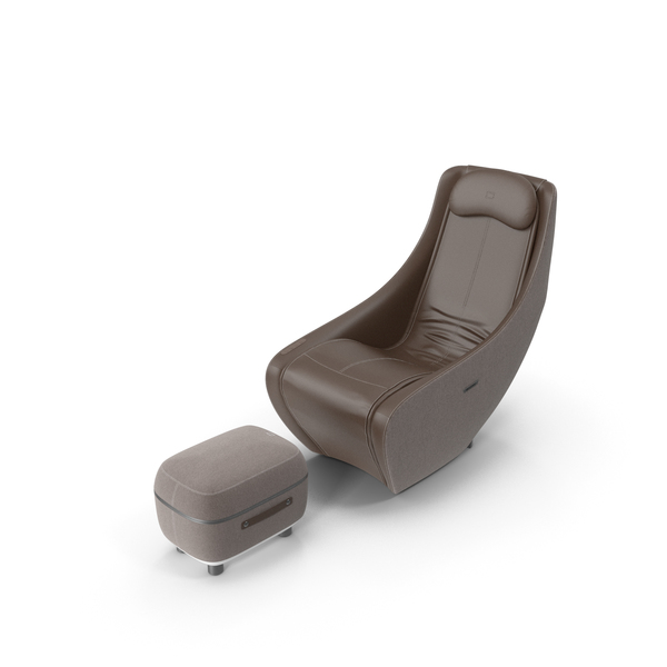 Bork Massage Chair & Foot Massager Set PNG & PSD Images