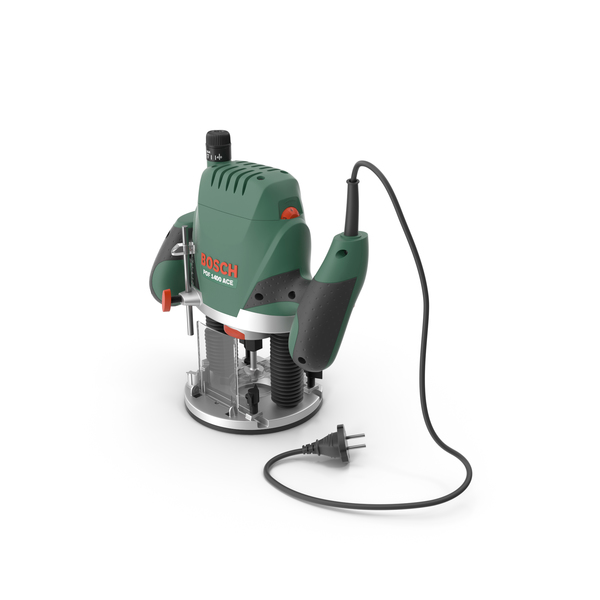 Bosch POF 1400 ACE Plunge Router PNG & PSD Images