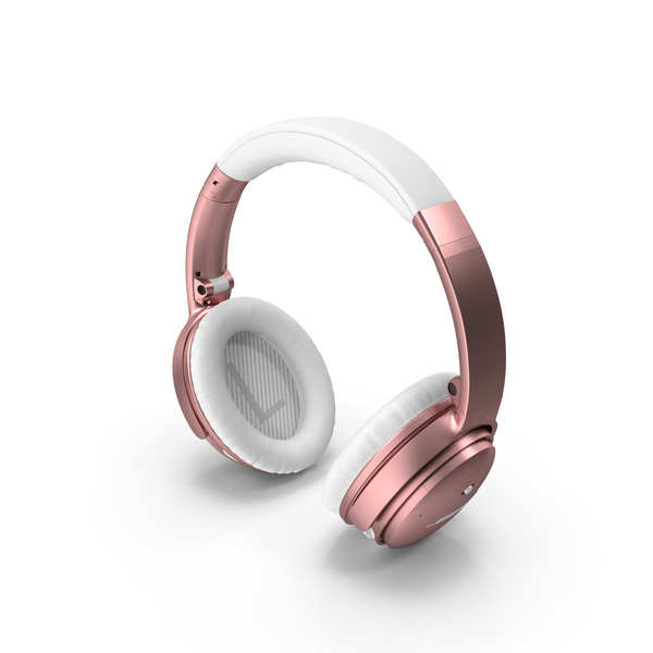 Bose Headphones Rose Gold PNG & PSD Images