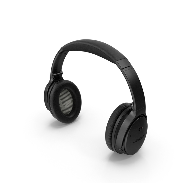 Bose Quiet Comfort Wireless Headphones Black PNG & PSD Images
