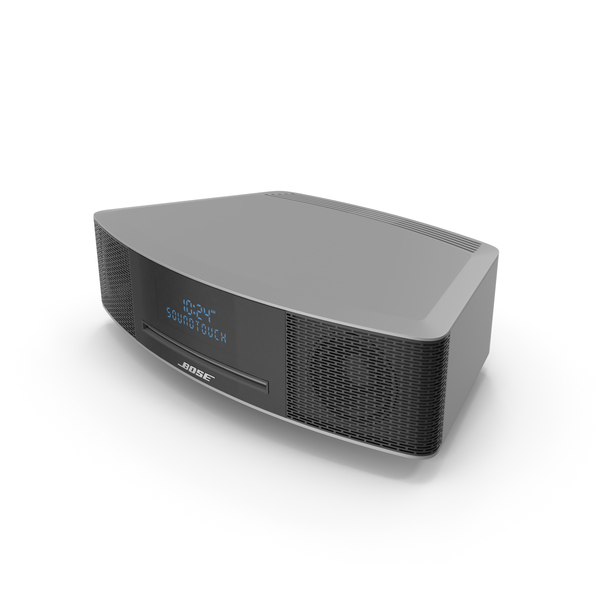 Audio Devices: Bose Wave Music System IV PNG & PSD Images