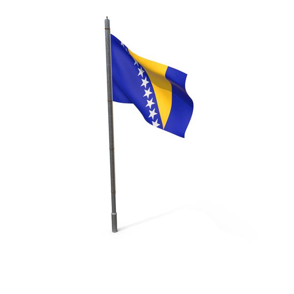 Bosnia and Herzegovina Flag PNG & PSD Images