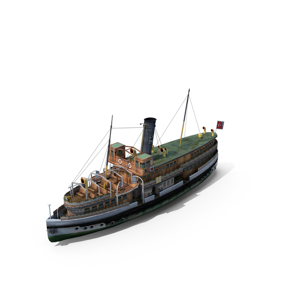 Steamboat: Bosphorus Steamship PNG & PSD Images