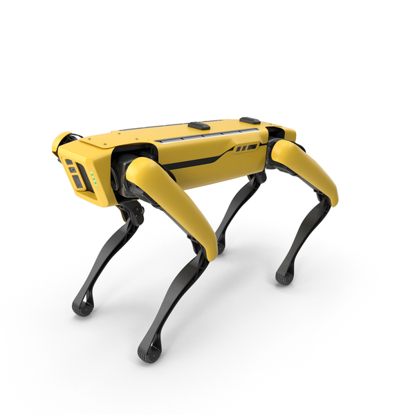 Boston Dynamics Spot Robot Dog Standing PNG & PSD Images
