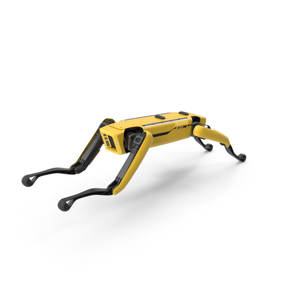 Boston Dynamics Spot Robot Jumping PNG & PSD Images