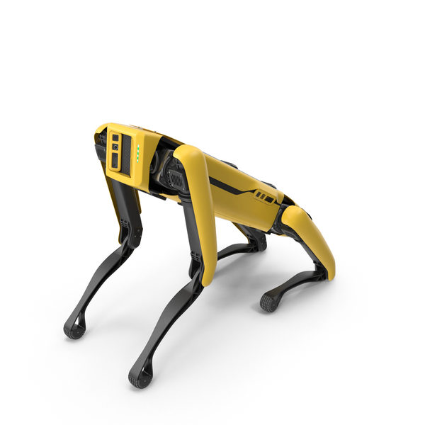 Boston Dynamics Spot Robot Sitting PNG & PSD Images