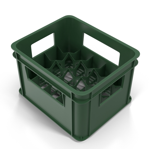 Plastic: Bottle Crate Object