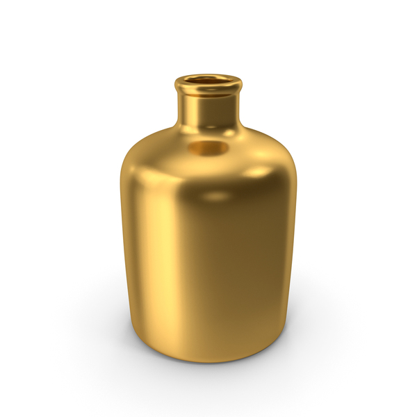 Bottle Gold PNG & PSD Images